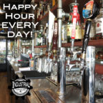 happy hour, industrial taphouse, eat local, beer, wine on tap, burgers, shakes, ashland virginia, cotu