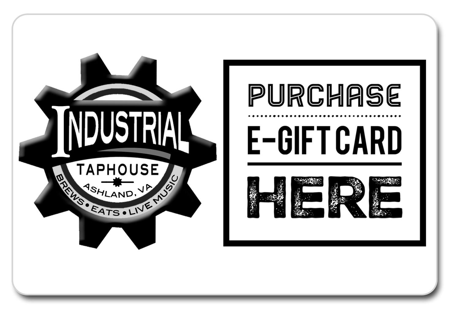 gift card, industrial taphouse, craft beer, burgers, best restaurant, cotu, ashland va, rva, richmond va